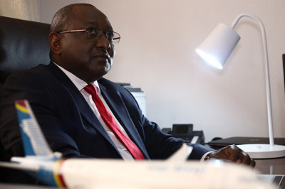 Désiré Balazire believes in the future of Congo Airways